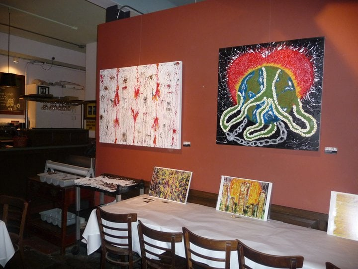 art at Figtree's Cafe