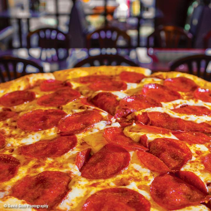Pepperoni Pizza at Pizza Schmizza