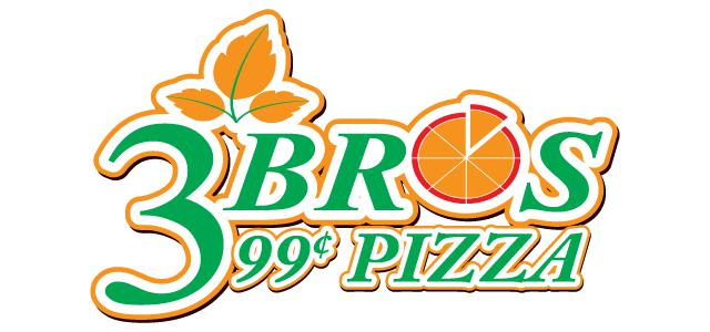 Photo at 3 Bros 99 Cent Pizza