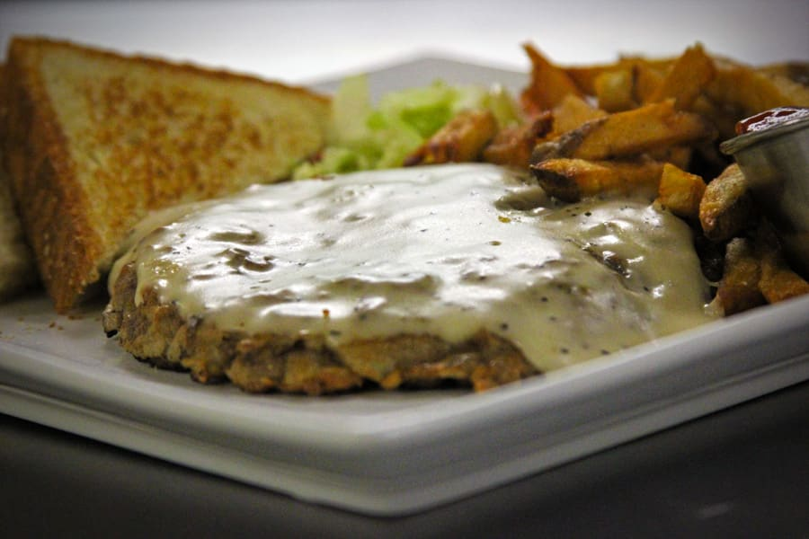Hill Country Chicken Fried Steak at Y.O. Ranch Steakhouse