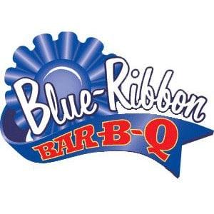 blue ribbon at Blue Ribbon BBQ