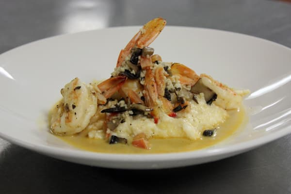 Low Country Shrimp and Grits at Y.O. Ranch Steakhouse