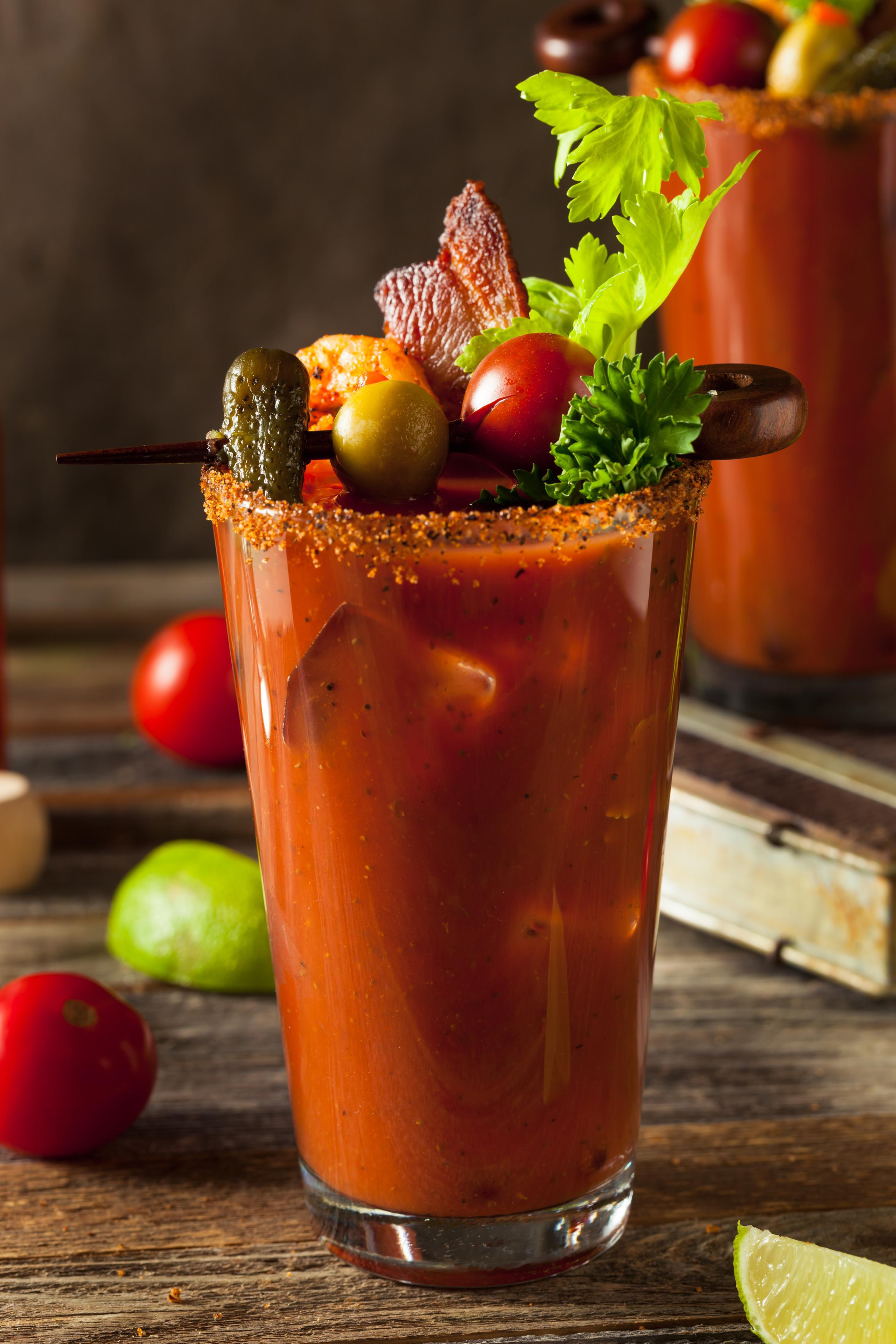Don't forget our signature, Bloody Mary! at Hotel Indigo San Diego