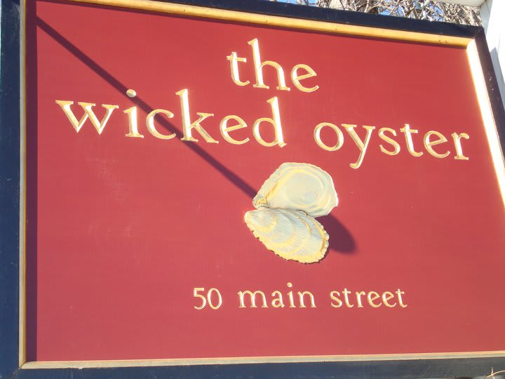 wicked oyster at Wicked Oyster