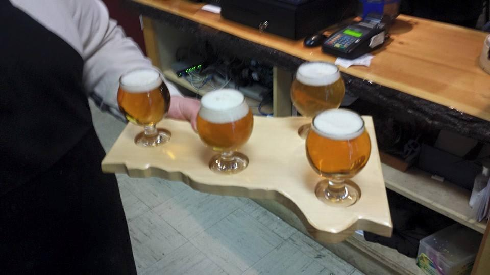 Fatty's Flight - $10.00 Choose 4 beers to sample at Big Fatty's BBQ