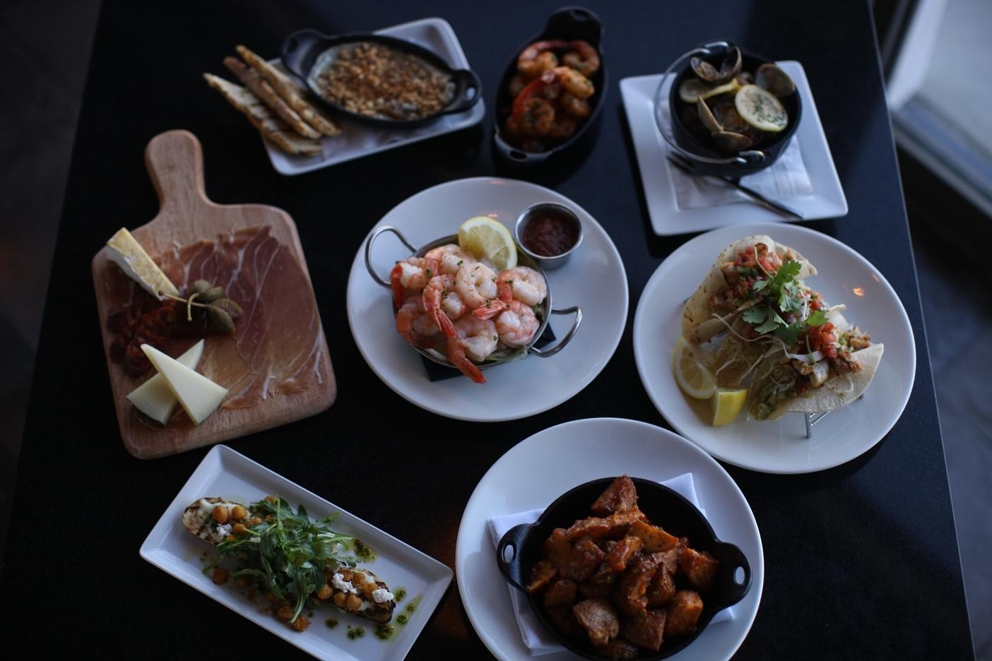 Small Plates at Breakwater Steak, Jazz & Seafood (CLOSED)