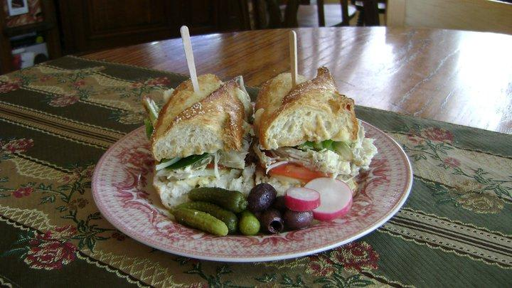 Our Sandwiches at Michele Coulon Dessertiere
