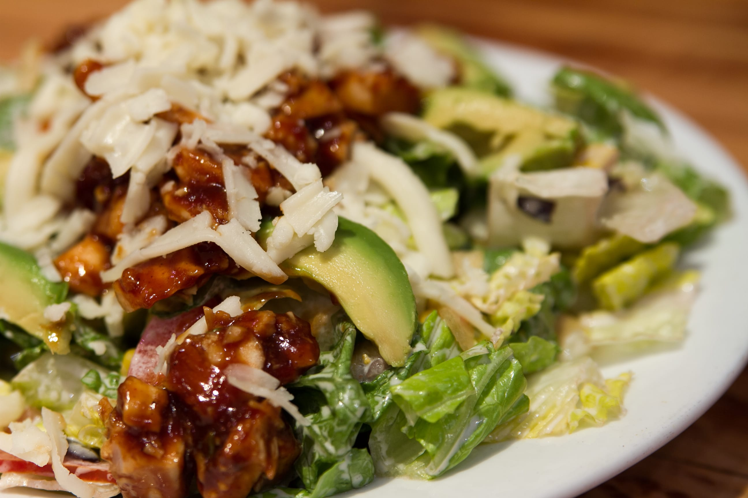 Southwest BBQ Ranch Chicken Salad at Coyote Cantina