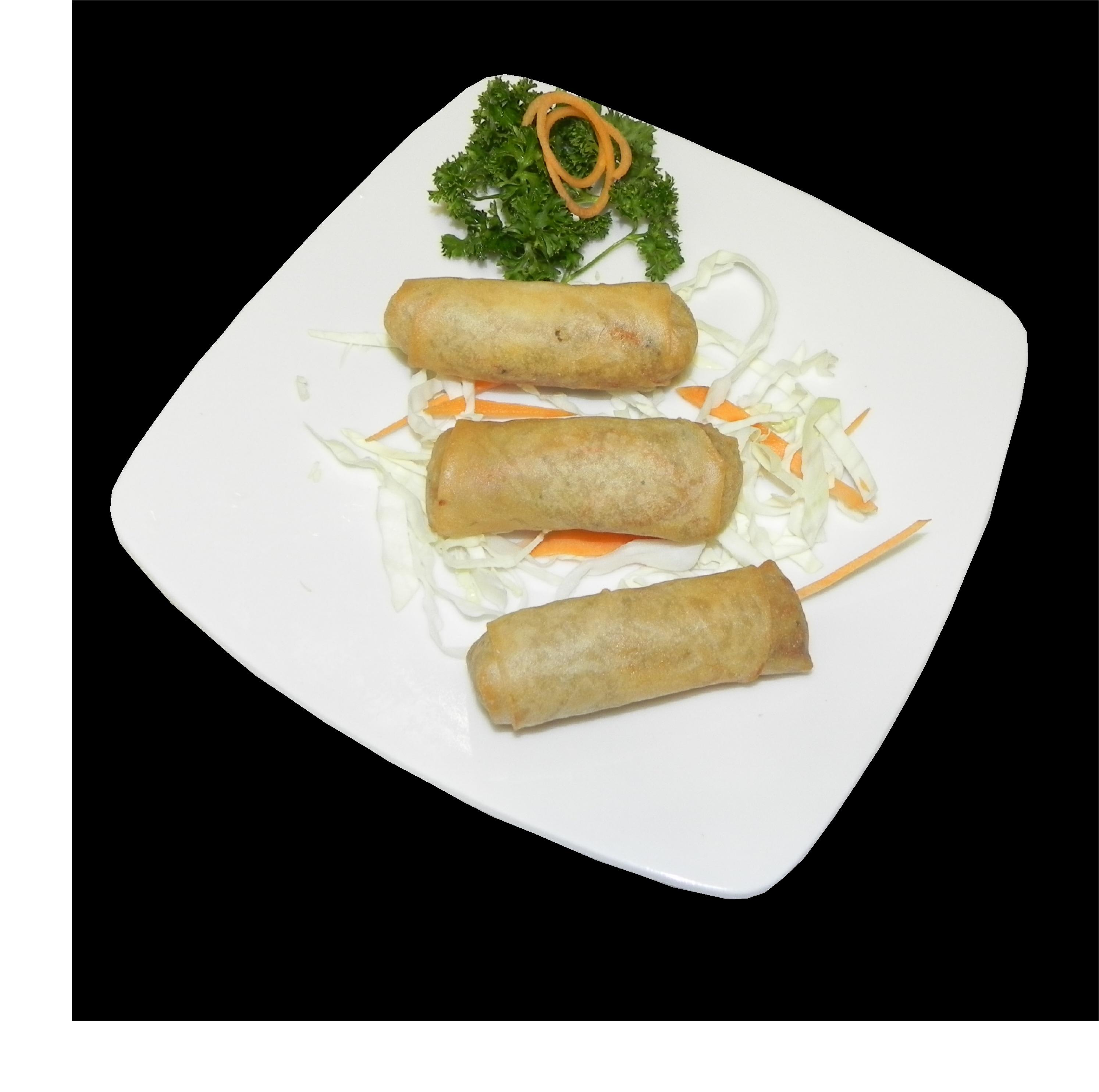 Spring Rolls at Asian Fusion