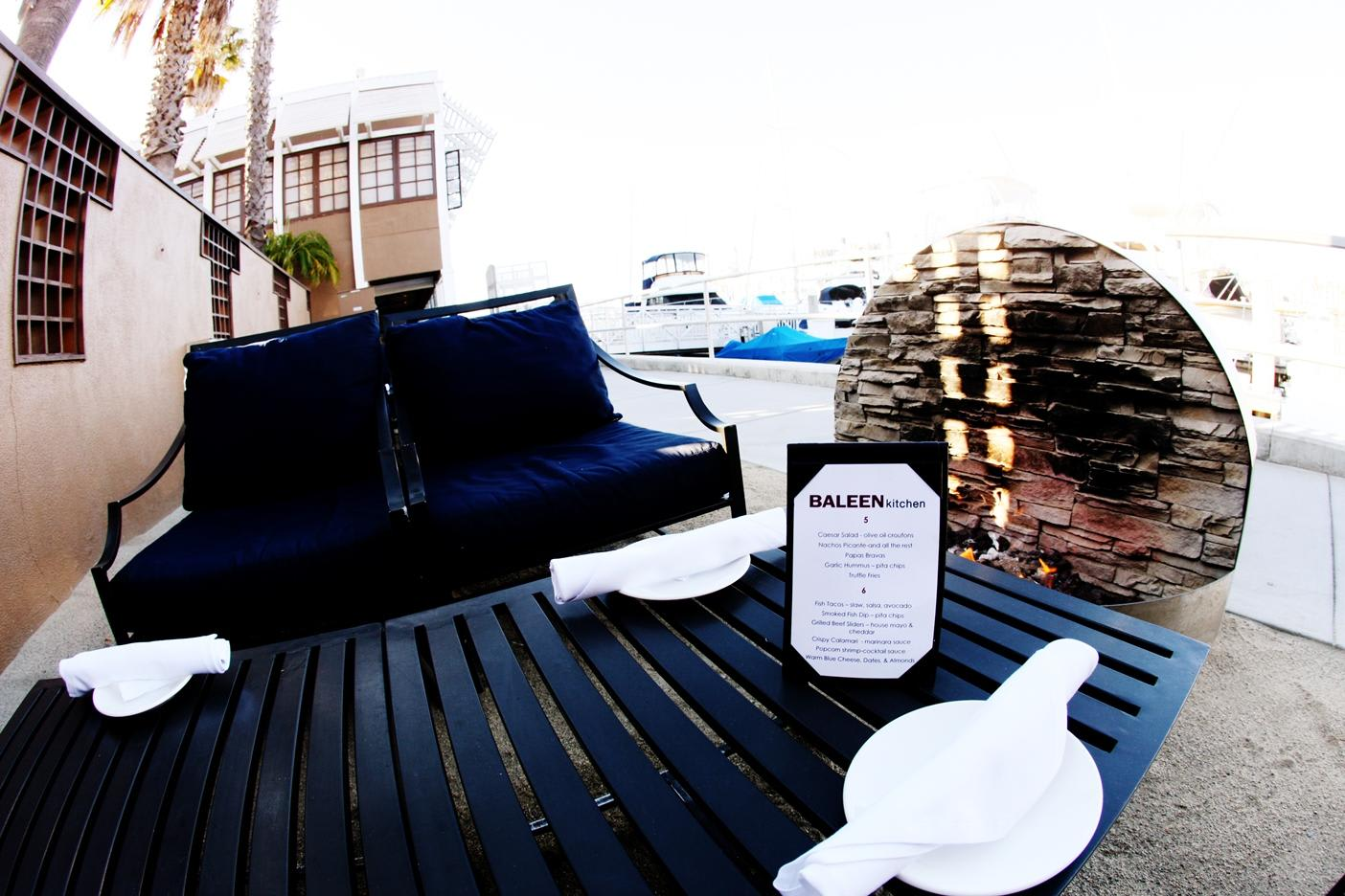 Fire Pits at Breakwater Steak, Jazz & Seafood (CLOSED)