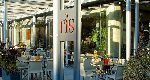 RIS Patio and Entrance at ris