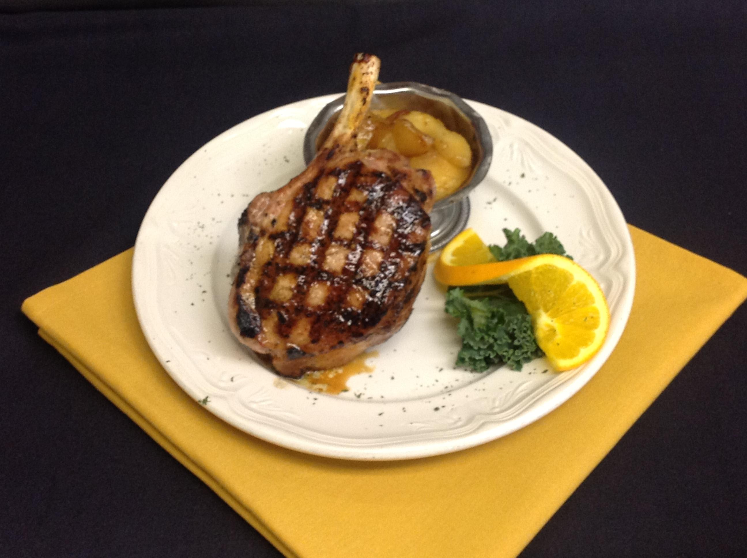 10oz Pork Chop at Palmers Steakhouse