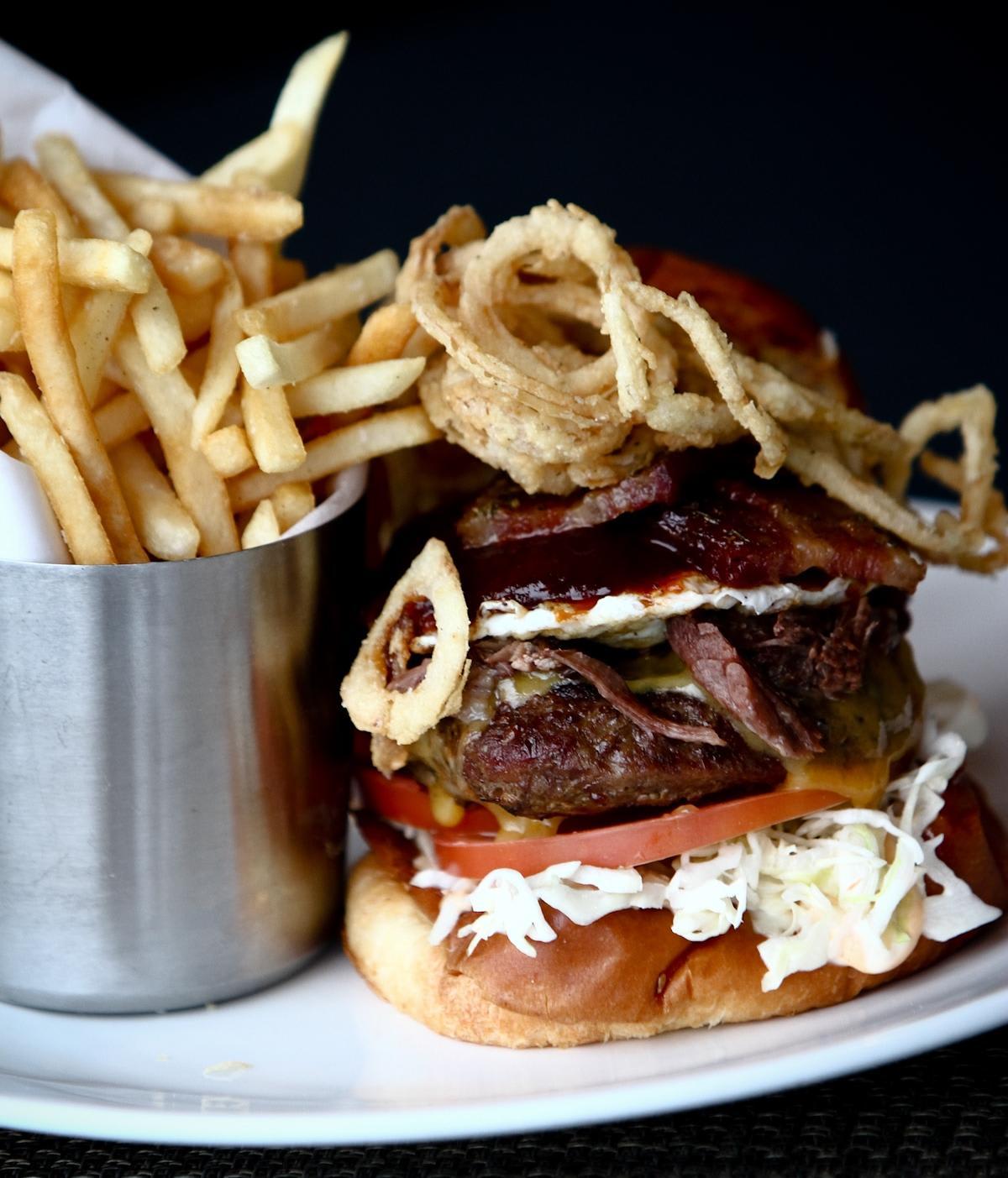 Andrew Jackson Burger at Breakwater Steak, Jazz & Seafood (CLOSED)