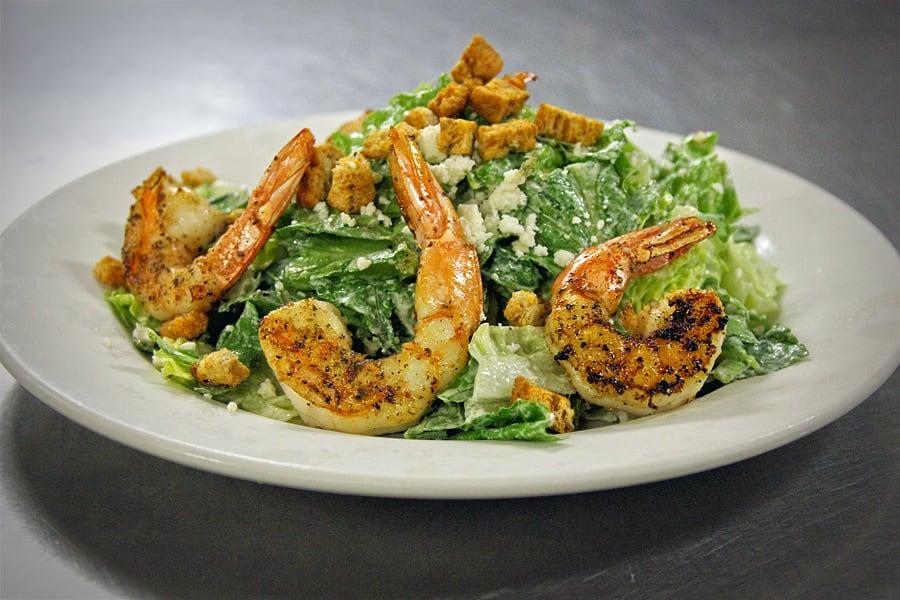Shrimp Caesar Salad at Y.O. Ranch Steakhouse