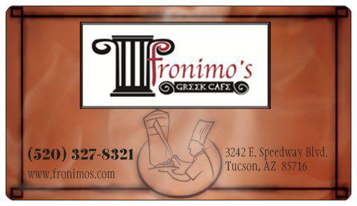 Photo at Fronimo's Gyros and Burgers