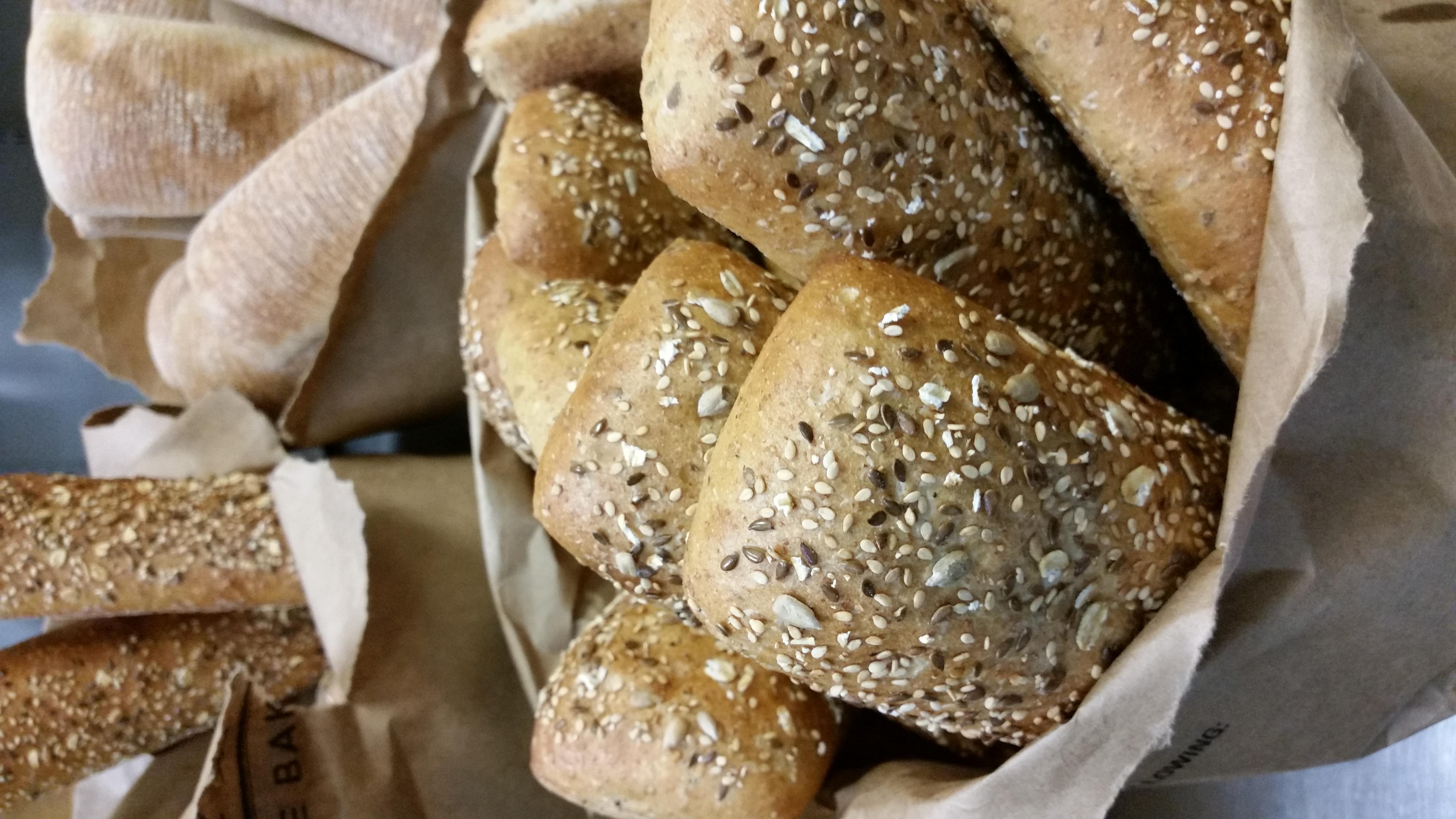 Whole Wheat Multigrain Rolls at South Street Creamery Cafe