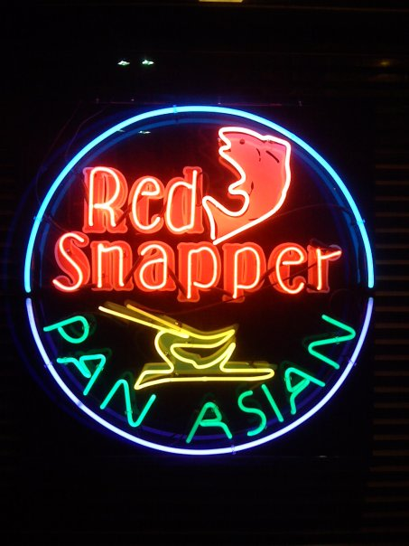 red snapper at Red Snapper