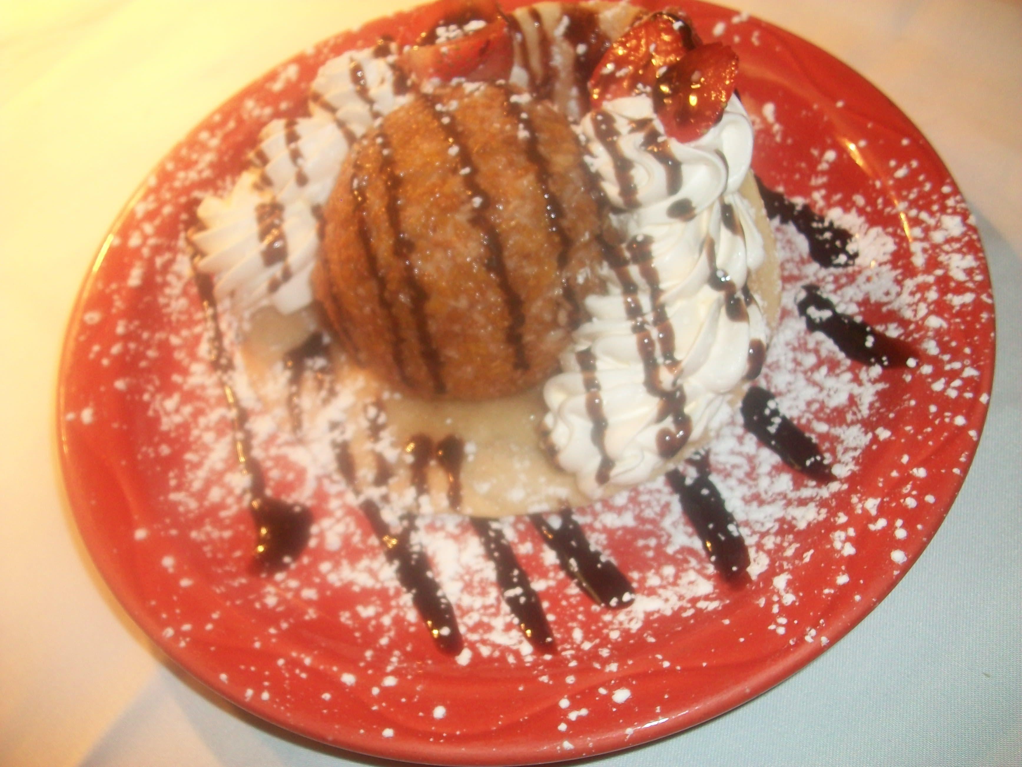 Fried Ice Cream at Margarita's