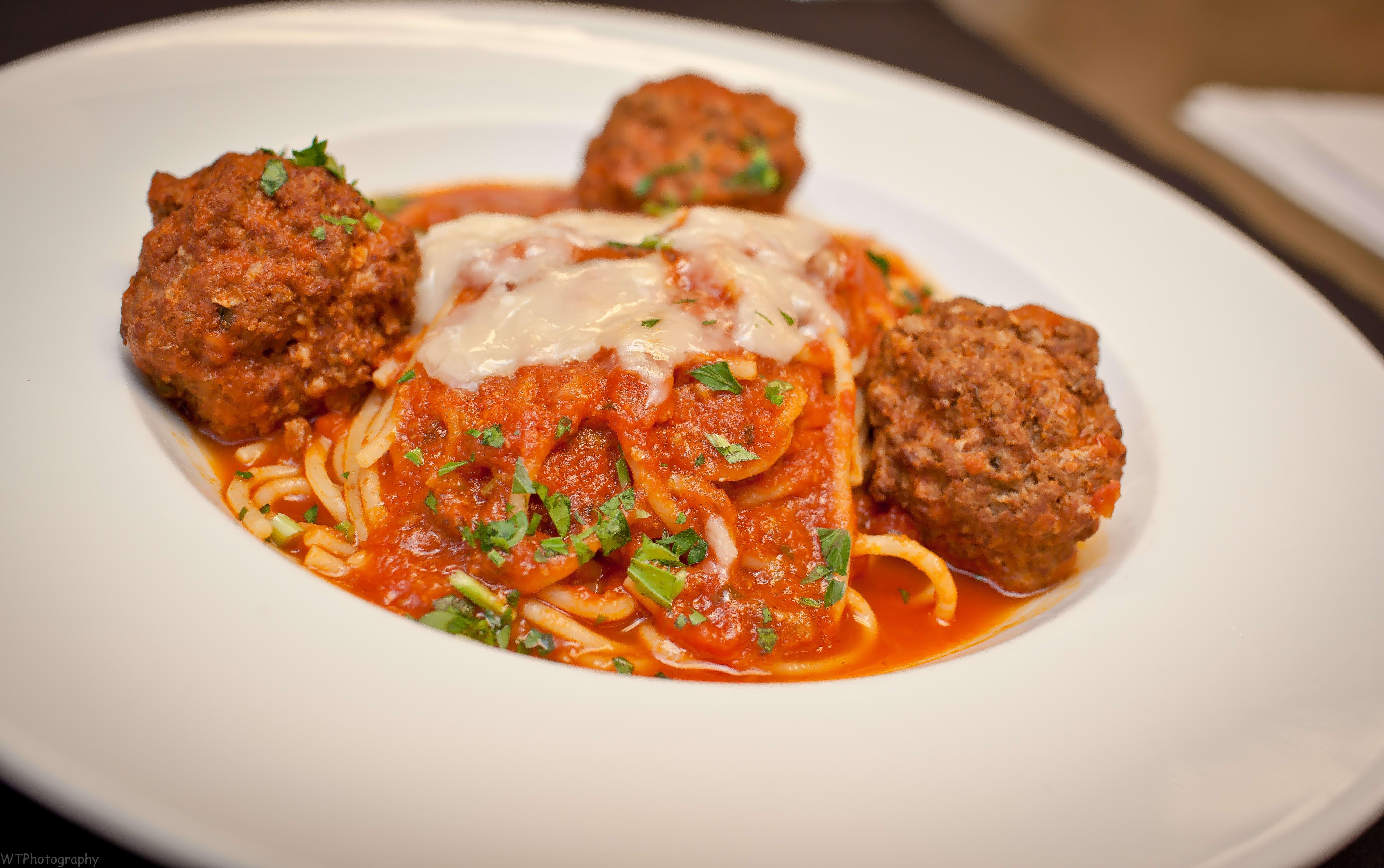Spaghetti with Meatballs at TusCa