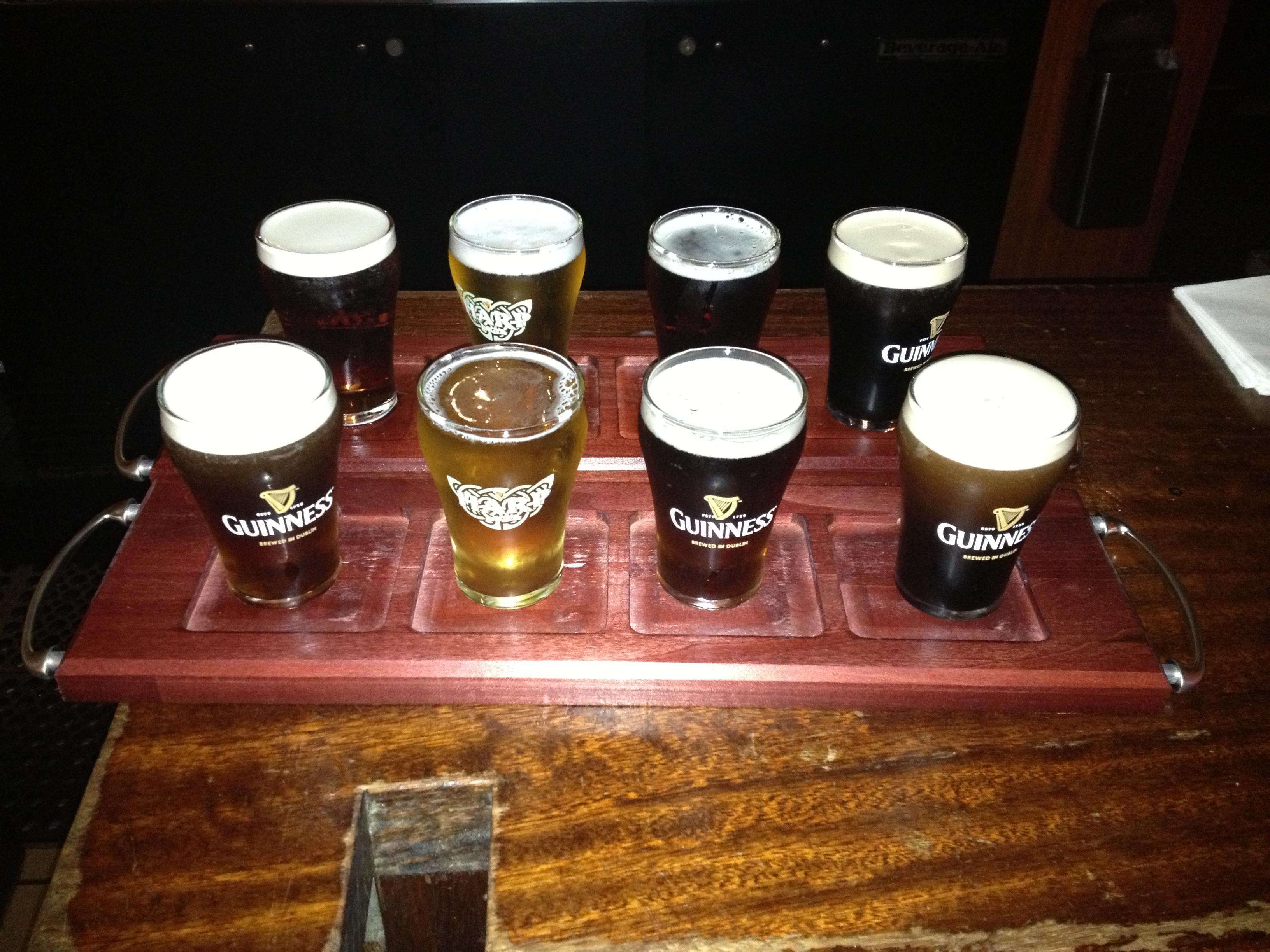 Beer Flight! at Finn McCool's