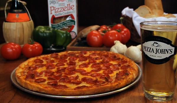 Photo at Pizza John's