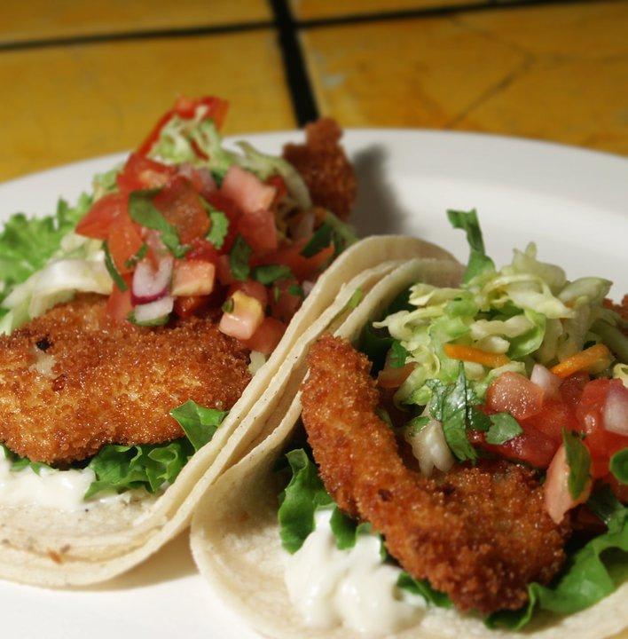 Fish Tacos at Chichen Itza