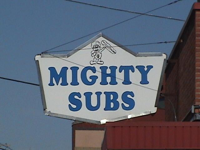 Photo at Mighty Subs