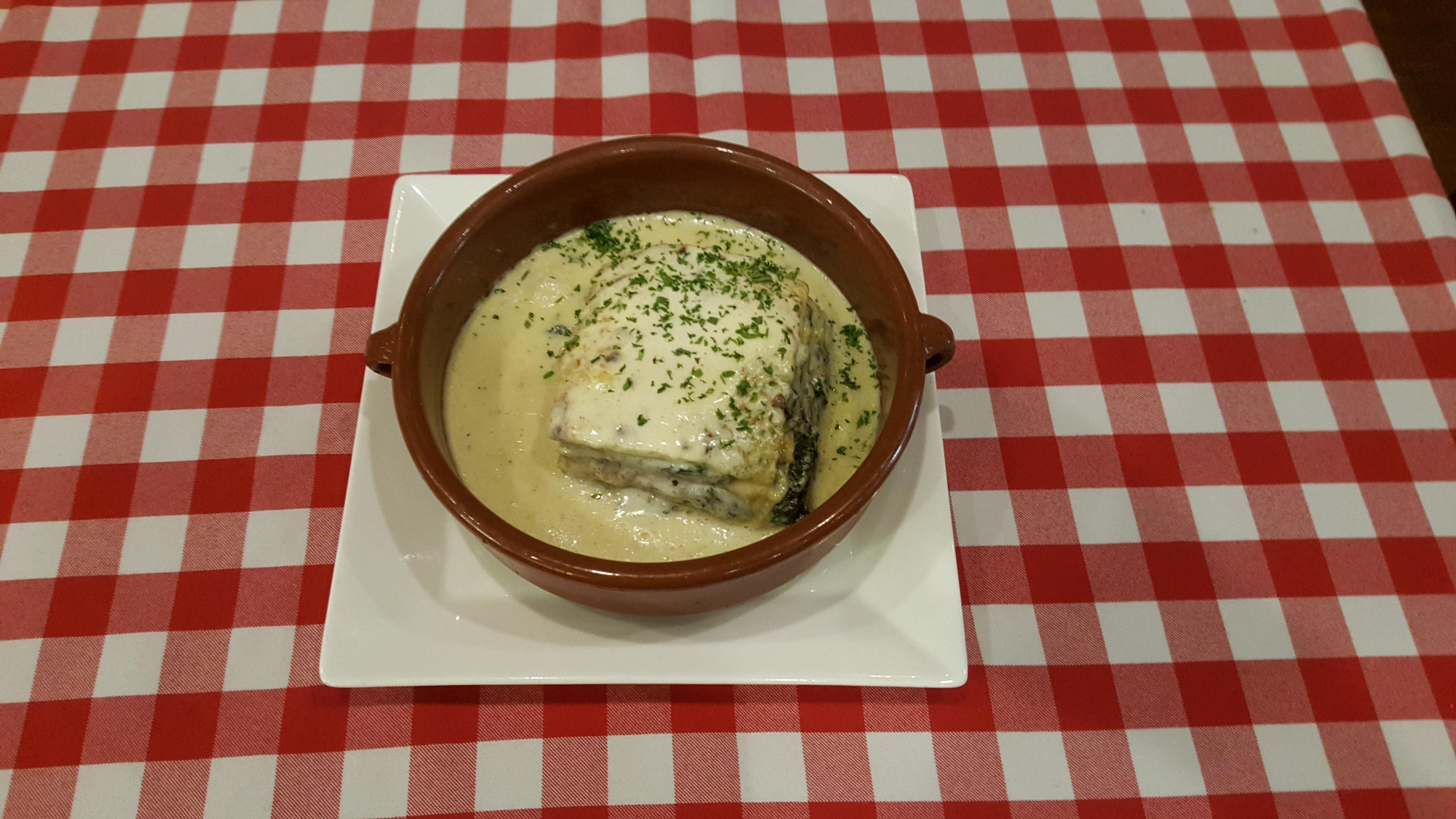 Lasagna Vegetariana at Pazzo Pomodoro