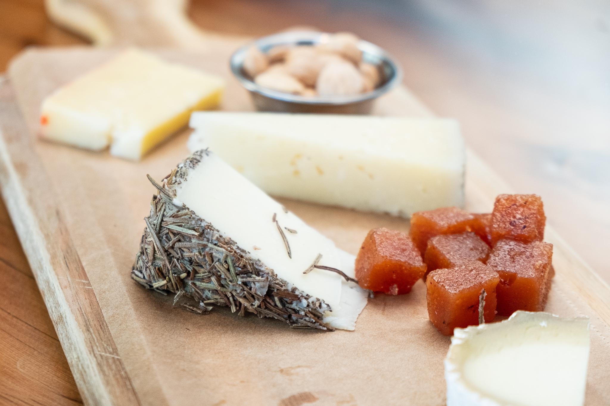 assorted spanish cheeses