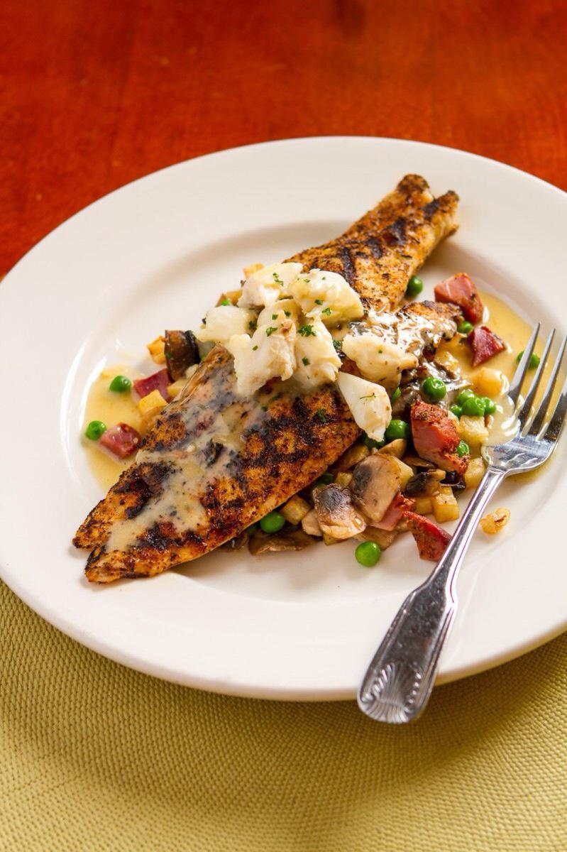 Wood Grilled Redfish & Louisiana Lump Crabmeat Photo