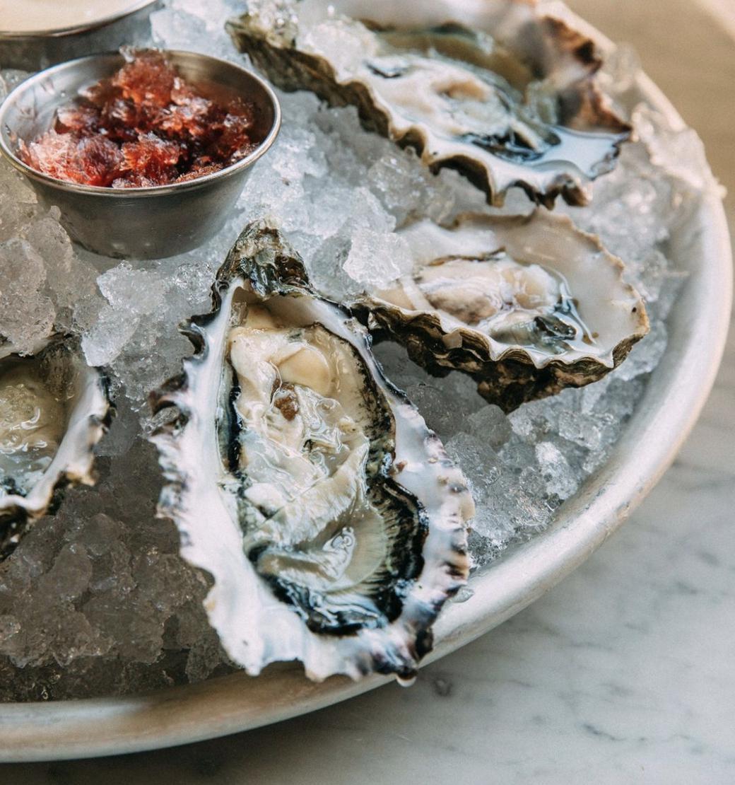 Half Dozen Oysters on the Half Shell