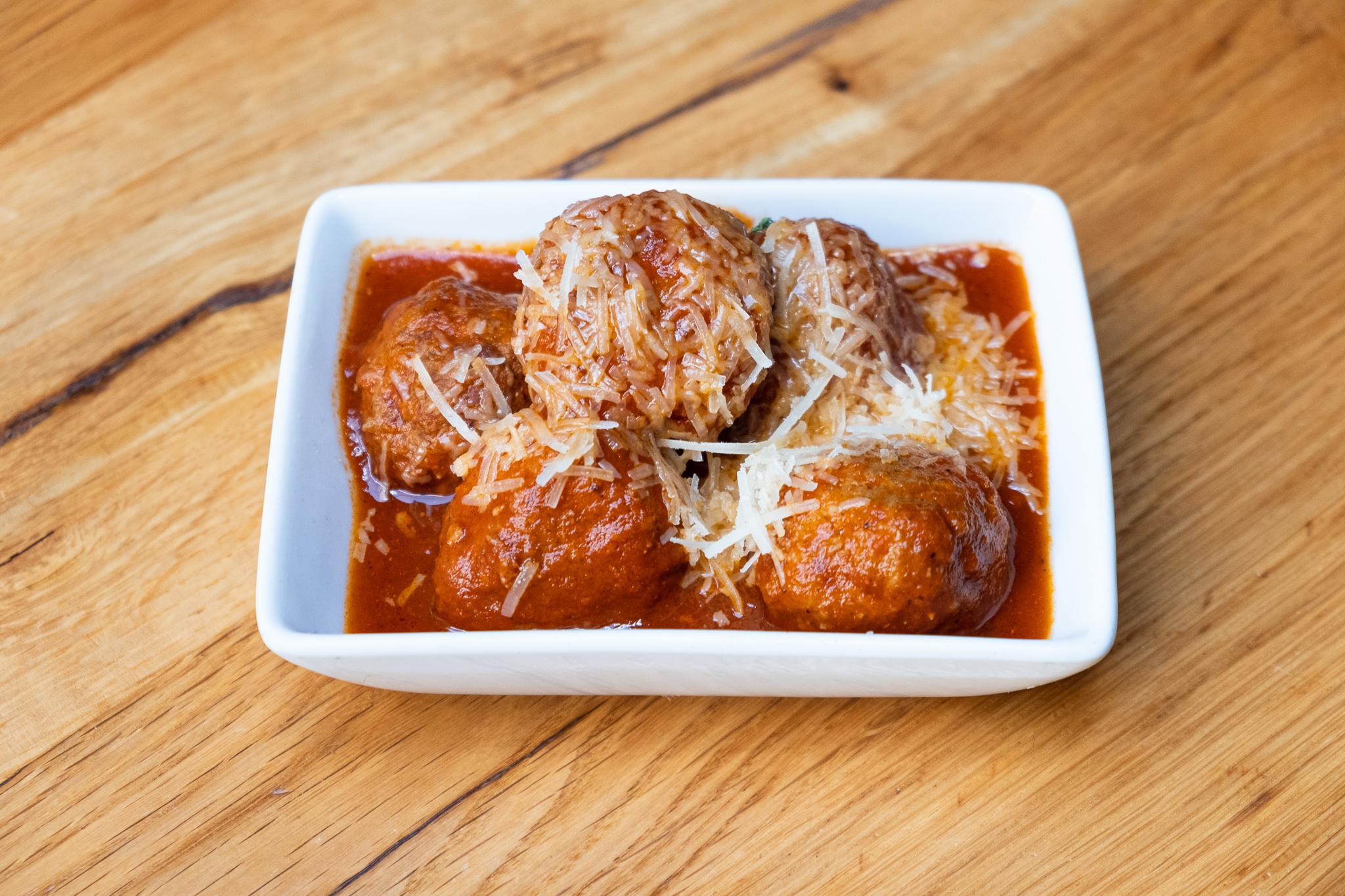 Meatballs with Sherry Tomato Sauce