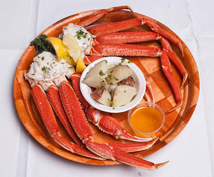 Alaskan Queen Crab Legs Photo