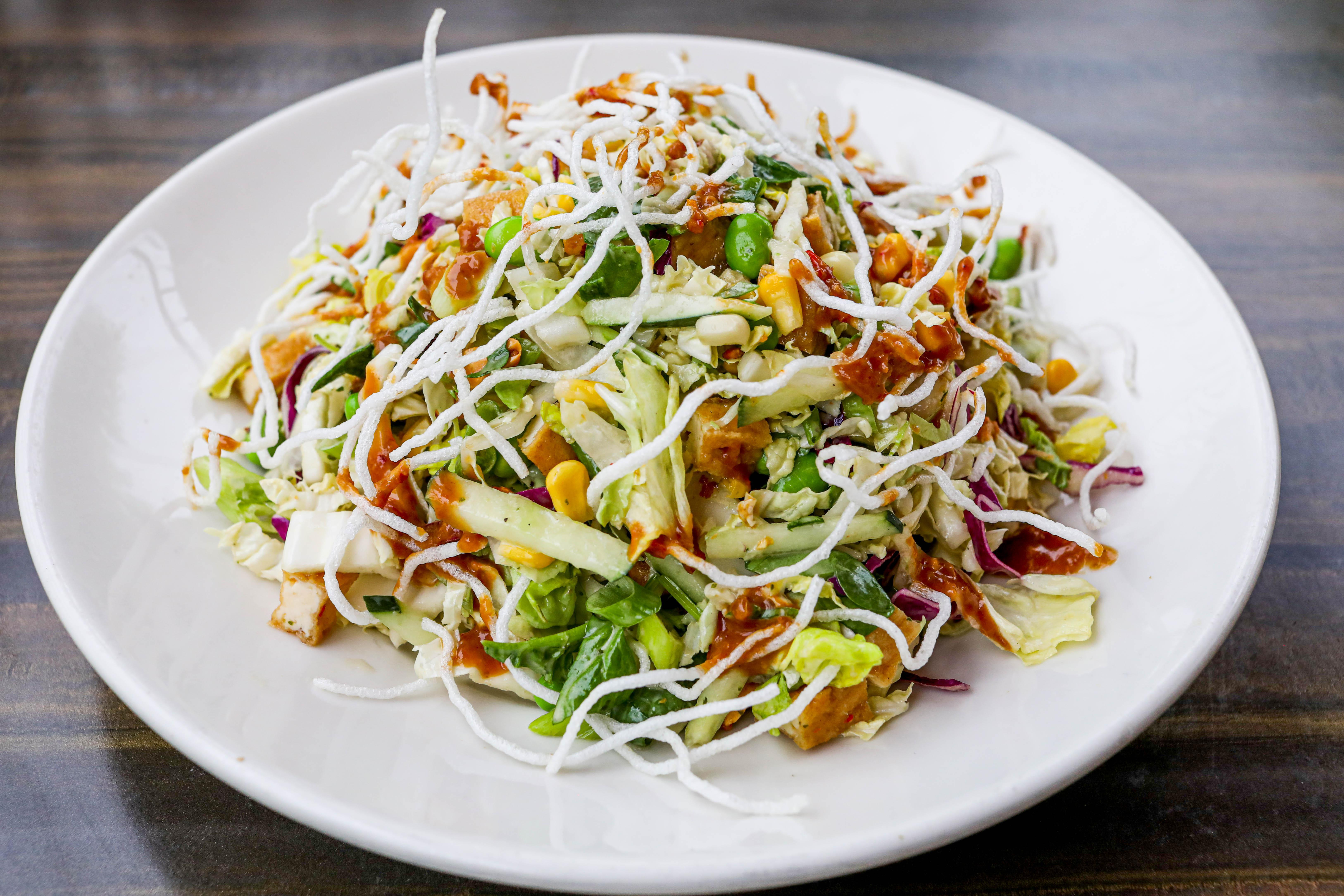 Big Bowl's Tofu Chopped Salad