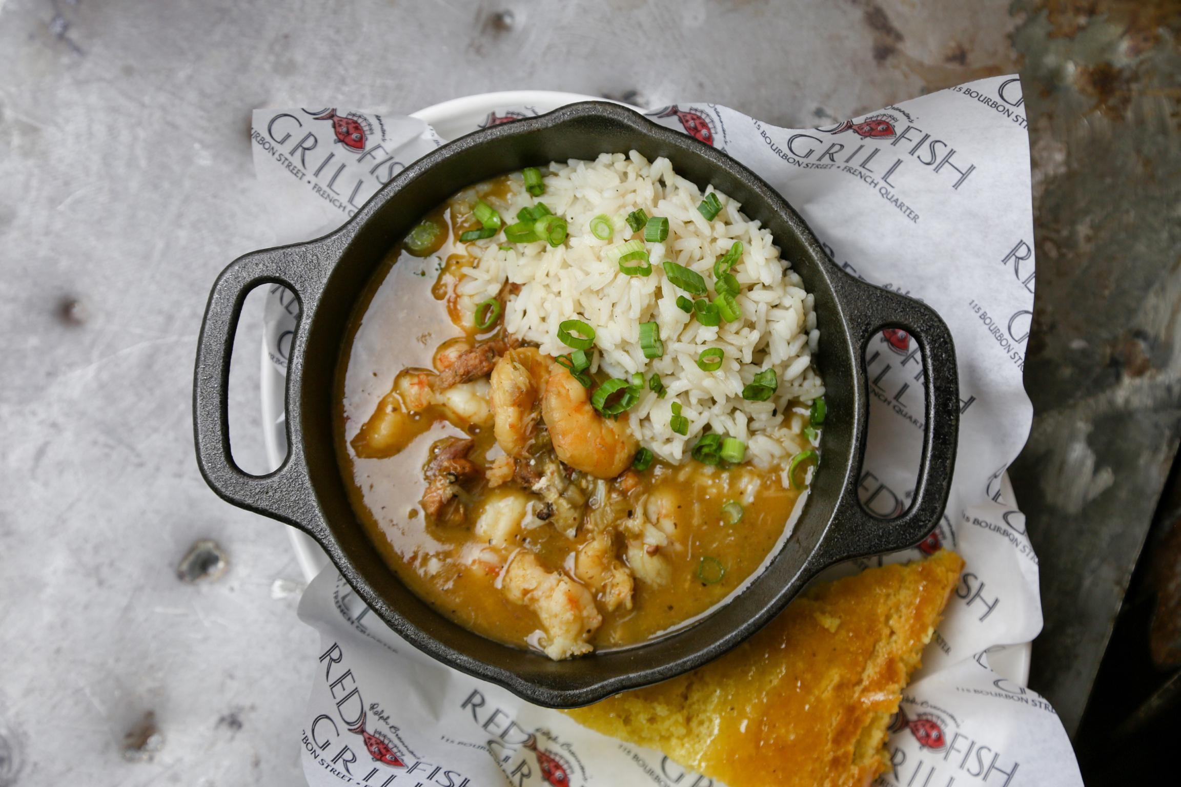 Alligator Sausage & Seafood Gumbo Photo