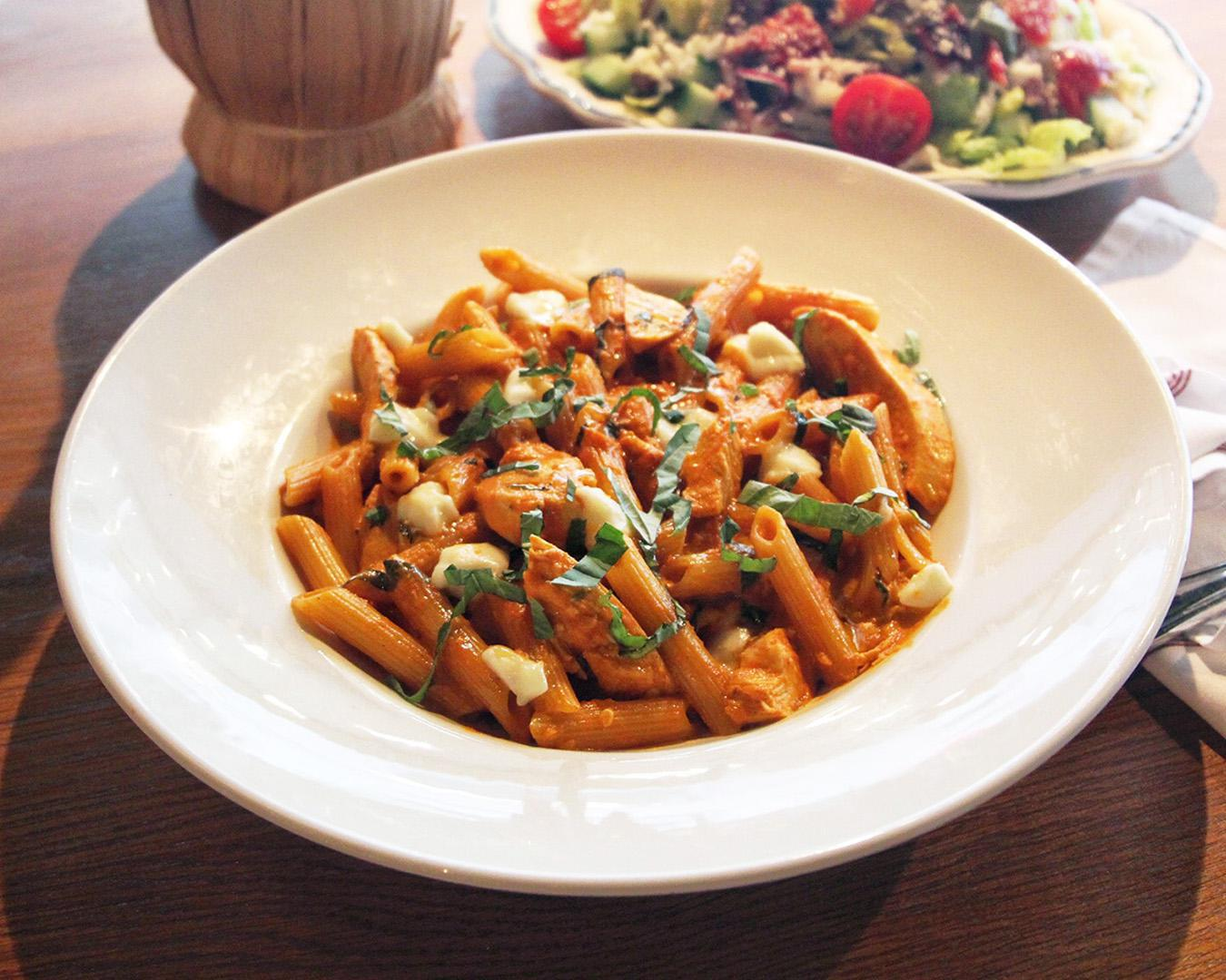 Roasted Chicken Penne