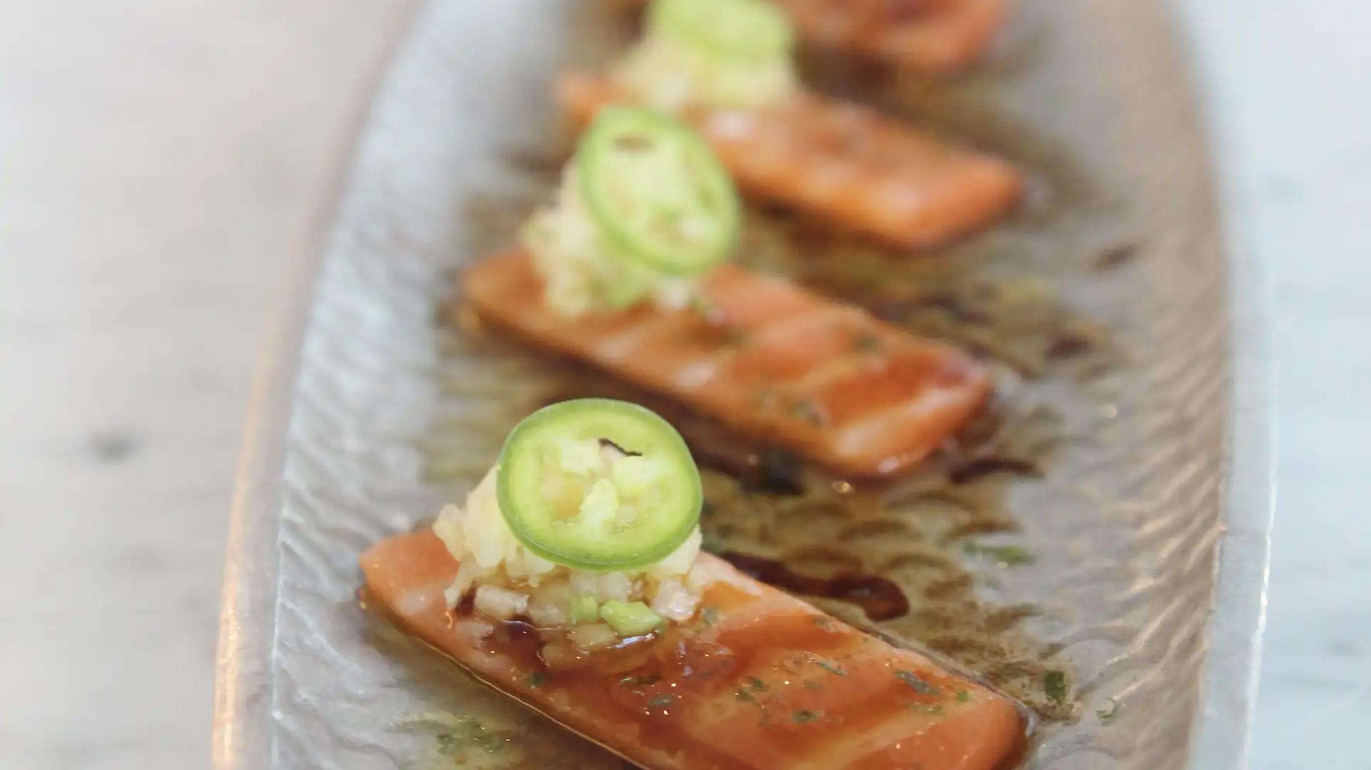 Citrus-Cured Salmon*