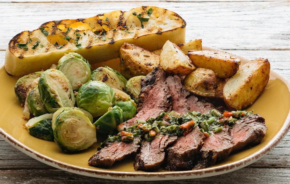 Chimichurri Grass Fed Steak