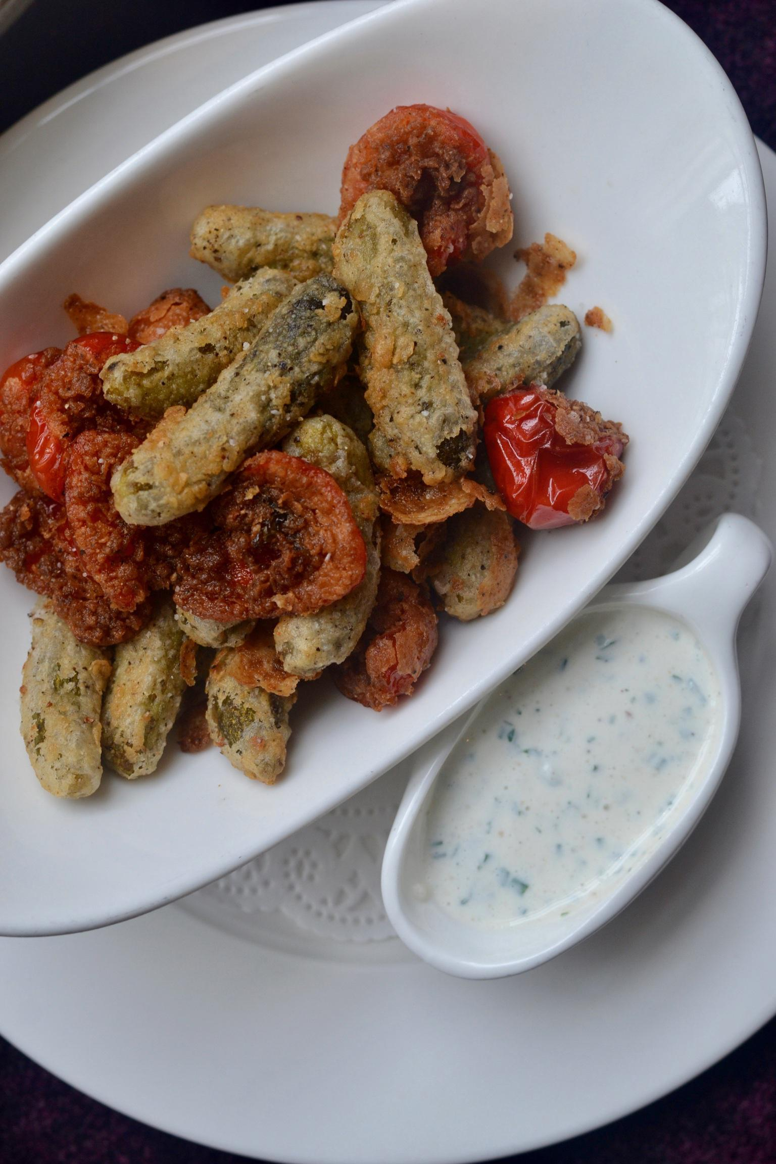 Fried Pickles & Peppers Photo