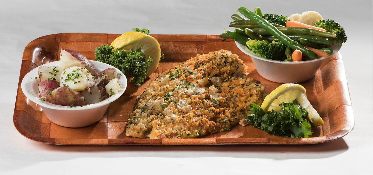 Broiled Flounder (Broiled Only) Photo